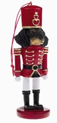 Dachshund Black and Tan Nutcracker Dog Christmas Ornament