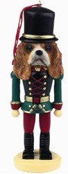 Cavalier King Charles Nutcracker Christmas Ornament
