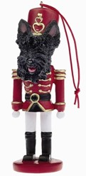 Scottish Terrier Nutcracker Christmas Ornament
