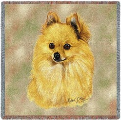 Pomeranian Throw