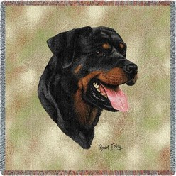 Rottweiler Throw
