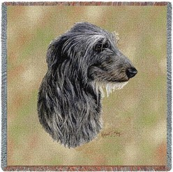 Scottish Deerhound Throw