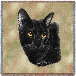 Bombay Cat Throw