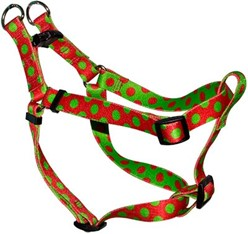 Holiday Polka Dot Step-In Harness