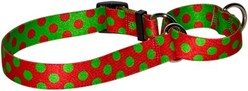 Holiday Polka Dot Martingale Collar
