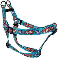 Luv My Dog Blue Step-In Harness, Made in the USA