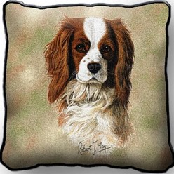 Cavalier King Charles Pillow, Made in the USA