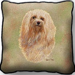 Havanese Pillow, Made in the USA