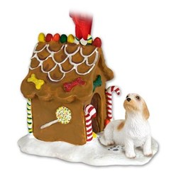Petit Basset Griffon Vendeen Gingerbread Christmas Ornament