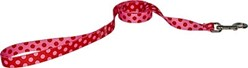 Valentine Polka Leash, Made in the USA