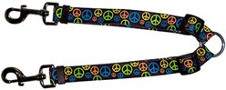 Neon Peace Signs Coupler