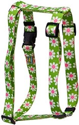 Green Daisy Harness