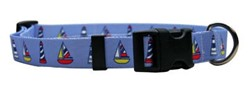Sailboats and Lighthouses Collar