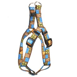Tiki Print Step-In Harness