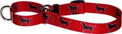 Black Labs Martingale Collar