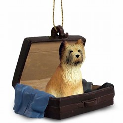 Briard Traveling Companion Ornament