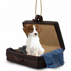 Brittany Traveling Companion Ornament