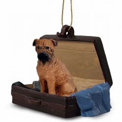 Bullmastiff Traveling Companion Ornament