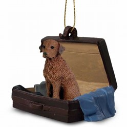 Chesapeake Bay Retriever Traveling Companion Ornament