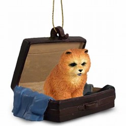 Chow Traveling Companion Ornament