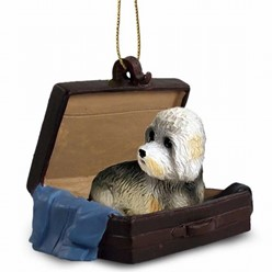 Dandie Dinmont Traveling Companion Ornament