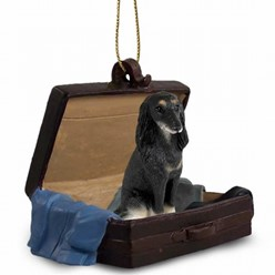 Saluki Traveling Companion Ornament
