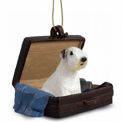 Sealyham Terrier Traveling Companion Ornament