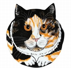 Calico Cat Decorator Plate, Now on Sale!