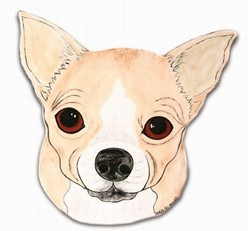 Chihuahua Decorator Plate, Now on Sale!