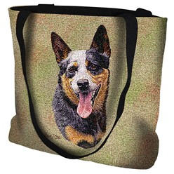 Australian Cattle Dog Tapestry Tote Bag