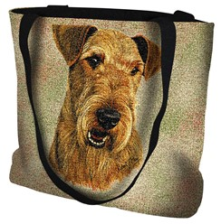 Airedale Tapestry Tote Bag