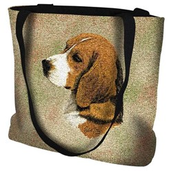 Beagle Tapestry Tote Bag