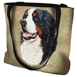 Bernese Mountain Dog Tapestry Tote Bag