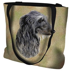Scottish Deerhound Tapestry Tote Bag