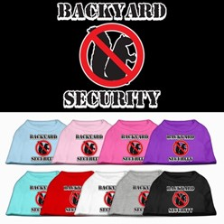 Backyard Security Pet Tee