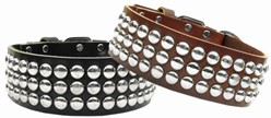 Tokyo Leather Big Dog Collar, Made in the USA