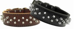 Brutus Leather Big Dog Collar, Made in the USA