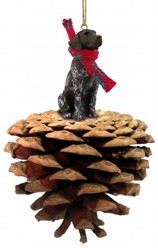 Pine Cone German Shorthaired Pointer Dog Christmas Ornament