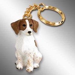 Brittany Dog Key Chain