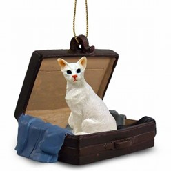 Oriental Shorthair Cat Traveling Companion