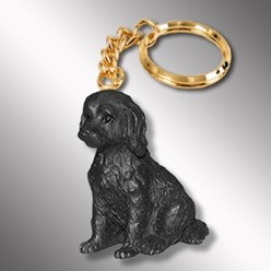 Labradoodle Dog Key Chain