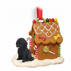 Cockapoo Gingerbread Christmas Ornament