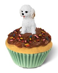 Cockapoo Pupcake Trinket Box