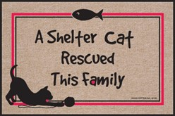 Shelter Cat Rescued This Family Mat