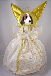 American Foxhound Angel Tree Topper