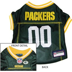 Green Bay Packers Pet Football Jersey