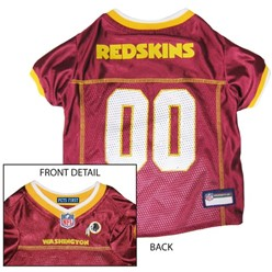 Washington Redskins Pet Football Jersey