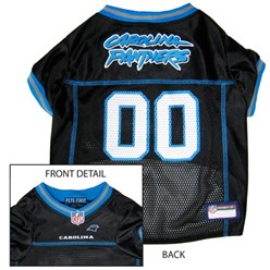 Carolina Panthers Pet Football Jersey