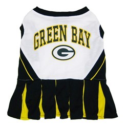 Green Bay Packers Pet Cheerleader Outfit