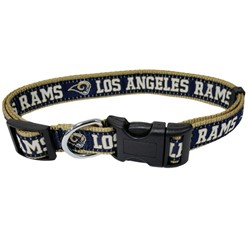 Los Angeles Rams NFL Dog Collar